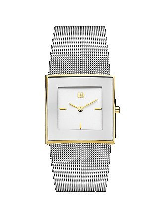 Danish Design Women's Silver Mesh Watch IV65Q973