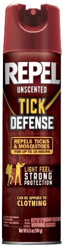 Repel HG-94138 Tick Defense Unscented Aerosol