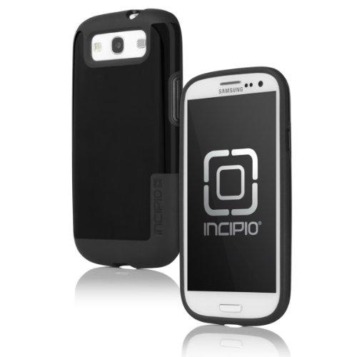 Incipio SA-306 Faxion Case for Samsung Galaxy S III - 1 Pack - Retail Packaging - Black/Black (Samsung Galaxy S3 Incipio Case compare prices)