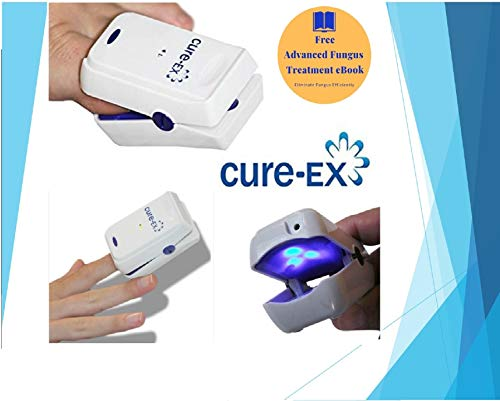 Professional Nail Fungus Laser Treatment Device - Home-Use Pain-Free Yellow Fungi Nail Remover - Toenail Fungus Medication - Nail Fungus Treatment & Cure - 7 Minutes a Day - Don't Be Embarrassed Again