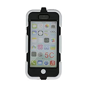 YoYoflyer Waterproof Shockproof Hard Military Case Cover For iPhone 5C