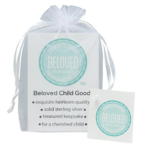 Beloved Child Goods Sterling Silver Baby Ring, 2mm domed band in a size 0 for a newborn, beautifully gift packaged by makes an Ideal Baby Shower, Baptism or Christening, Welcome Baby or by Beloved Child Goods (Image #1)