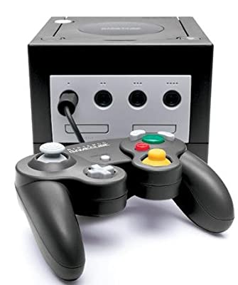 Official Black Gamecube System Console - Factory Refurbished
