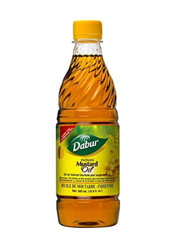 Dabur Mustard Oil 16.9Oz (Best Indian Cooking Videos)