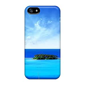 High Quality NadaAlarjane Island Skin Case Cover Specially Designed For Iphone - 5/5s