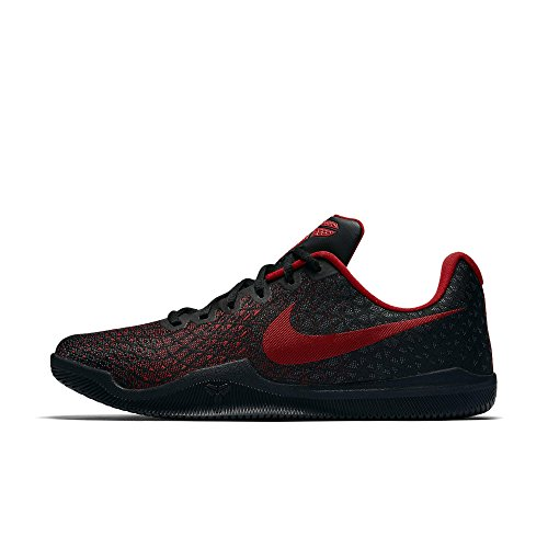 University Mens Basketball - Nike Mens Kobe Mamba Instinct Basketball Shoes (10.5, Black/University Red-M)