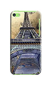 XYANW beautiful Eiffel tower picture of TUP new style scratch-proof phone case for Iphone5c