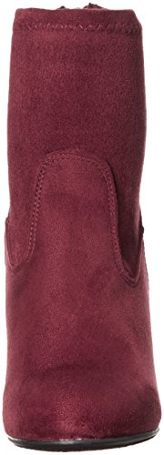 Chinese Wasvrouwen Upscale Wedge Boot Merlot Suedette