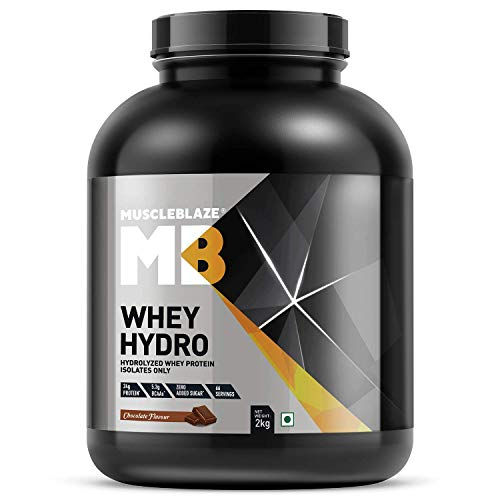 MuscleBlaze Hydro Whey Protein Isolate (Chocolate, 2 Kg)