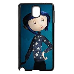 coraline jones coraline Samsung Galaxy Note 3 Cell Phone Case Black yyfD-213357