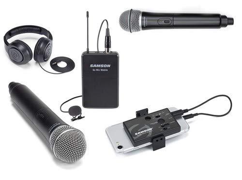 Samson Go Mic Mobile Dual Handheld Smartphone Wireless System
