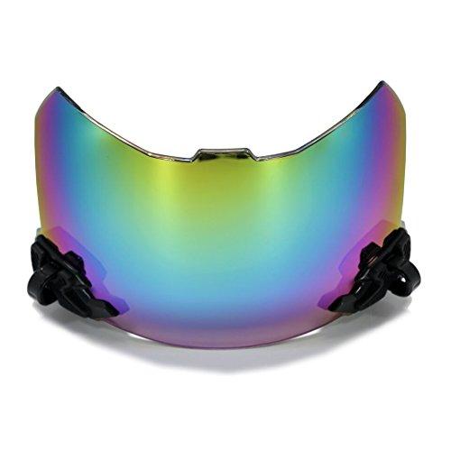 football helmet visor color - 2