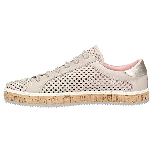 Komood con Mujer ZWEIGUT 333 Piel Lisa gris Zapatos de Cordones PvWfn1xqw