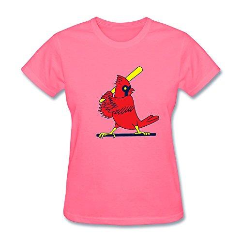 Women's St. Louis Cardinals Team Logo Short Sleeve T-Shirt