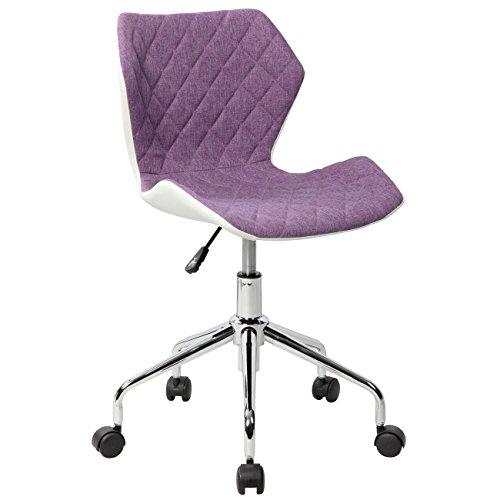Techni Mobili RTA-3236-PPL Office Task Chair, Purple by Techni Mobili