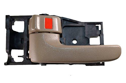 PT Auto Warehouse TO-2901B2-LH - Inside Interior Inner Door Handle, Dark Brown (Oak) - Driver Side