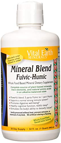 Vital Earth Minerals Mineral Blend Fulvic-Humic - 32 ounces - Whole Food