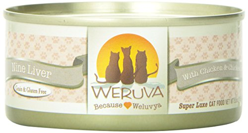 - Weruva Nine Liver Canned Cat Food