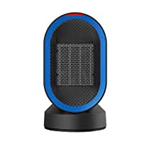 YJZ Small Space Heaters Indoor Rotatable Portable Electric Personal Desk Heater for Office Bathroom Bedroom Livingroom