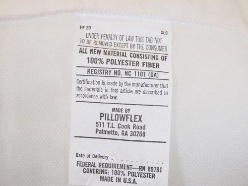 Pillowflex 6 Inch By 30 Inch Bolster Insert Pillow Forms