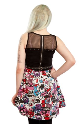 Cupcake TOWN Kleid Schwarz DRESS TOON black Cult 44zHSp