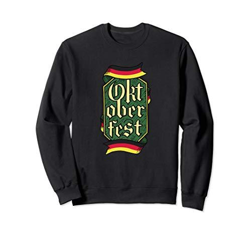 Non Traditional German Oktoberfest Outfit Top Men Beerfest Sweatshirt]()