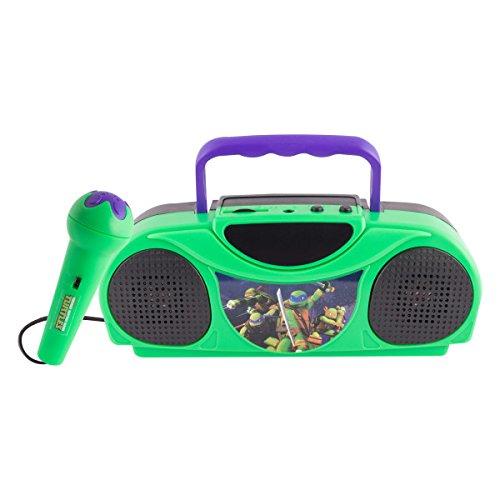 Teenage Mutant Ninja Turtles Radio Karaoke Kits, 16365 (Ninja Turtle Blue)