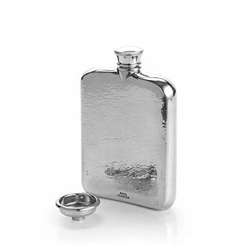 Royal Selangor Hand Finished Generic Collection Pewter Hip Flask (130ml) by Royal Selangor