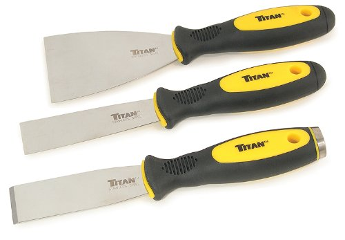 Titan Tools 17000 Scraper and Putty Knife Set - 3 Piece