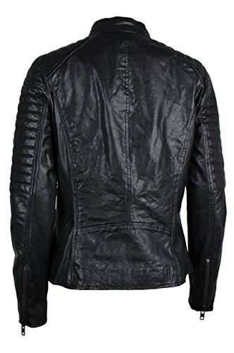 Slim 3773501 Casuale Abbigliamento Nero amp; Colore Trueprodigy Vestiti Donna Classic Vintage 2999 Fit Di Giubbotto Giacca Urban Black sportiv Pelle Moda PTUUdqX
