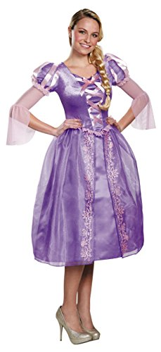 Disguise Disney Princess Rapunzel Adult Costume Large (Disney Princess Costumes Adults)