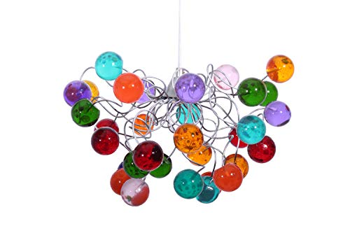 Lightshade Handmade Colorful Ceiling lamp - Bubble Light Fixture - Lights for Living Room - Home Decorations Unique Light Fixtures - Gift Ideas