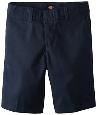Dickies 42-062 Boys Flat Front Short w/Extra Pkt-DARK NAVY-8