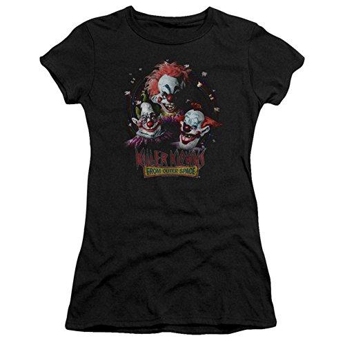 Juniors: Killer Klowns From Outer Space- Killer Trio Juniors (Slim) T-Shirt Size S]()