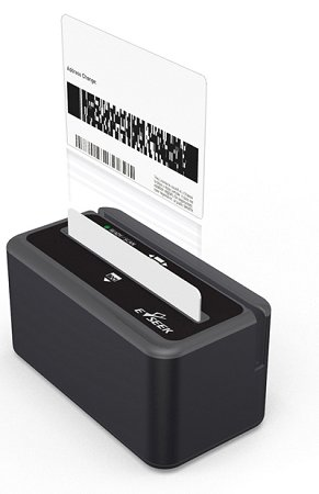 E-seek M-260 ID Card Reader (with USB Smart cable) by IDScan.net