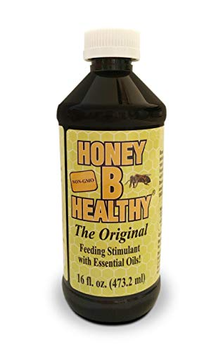 Honey B Healthy Original Feeding Stimulant with Essential Oils, 16oz Bottle