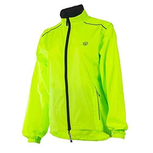 CANARI Women's Tour Cycling/Biking Jacket, Killer Yellow, Medium