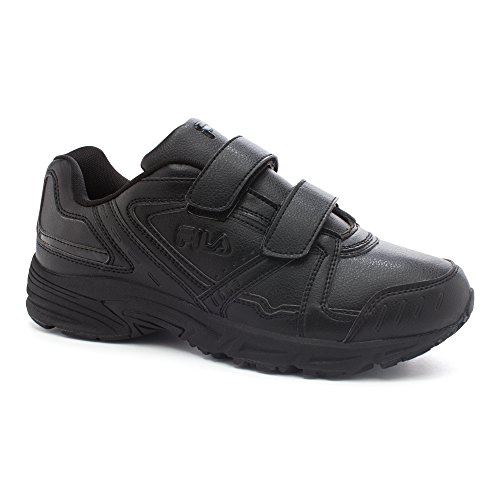 Fila Mens Talon 2 Strap Athletic Sneakers Black, Black, Black