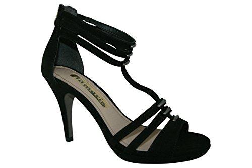 vestir Tamaris Auditor mujer Sandalias negro de para Value FngnAO