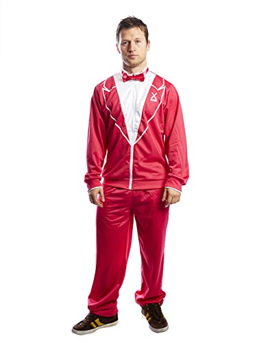 Flamingo Leg Costume One (Traxedo Men's - The Flamingo, Hot Pink,)