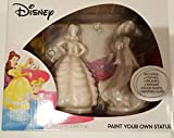 Disney Belle and Cinderella Paint Your Own Statue