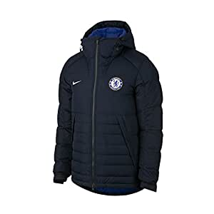 2017-2018 Chelsea Nike Down Fill Jacket (Black)
