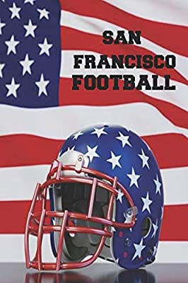 San Francisco Football: Homework Book Notepad Composition and Journal Diary Notebook