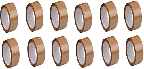 Wonder Cello Brown Tape 2 inch/48mm Width x 65 Meter Length - Pack of 18 by Ranco Poly Bags (B07ML69PB6) Amazon Price History, Amazon Price Tracker