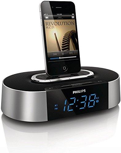Philips AJ7030D/37 30-Pin iPod/iPhone Dual Alarm Clock Digital FM Radio Speaker Dock (Certified Refurbished)