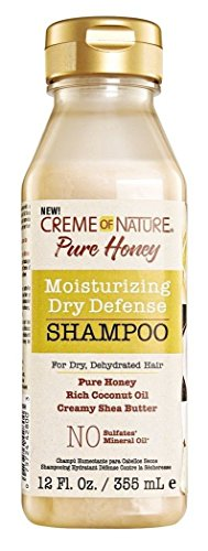 Creme of Nature Moisturizing Dry Defense Shampoo, 12 Ounce -