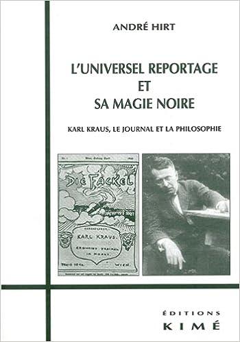 En ligne L'Universel reportage et sa magie noire pdf