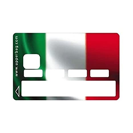 Skin-Pegatina para tarjeta de crédito, diseño de bandera de ...