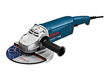 Bosch Professional GWS 20-230 JH - Amoladora en caja, diámetro 230 mm, 2200  W, Negro Azul Plata  Amazon.es  Bricolaje y herramientas c81483f238b1