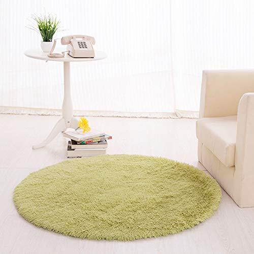 Home Living Room Bedroom Floor Carpet Mat Soft Anti-Skid Rectangle Area Rug Sofa Coffee Table mat Soft Long Hair,80cm